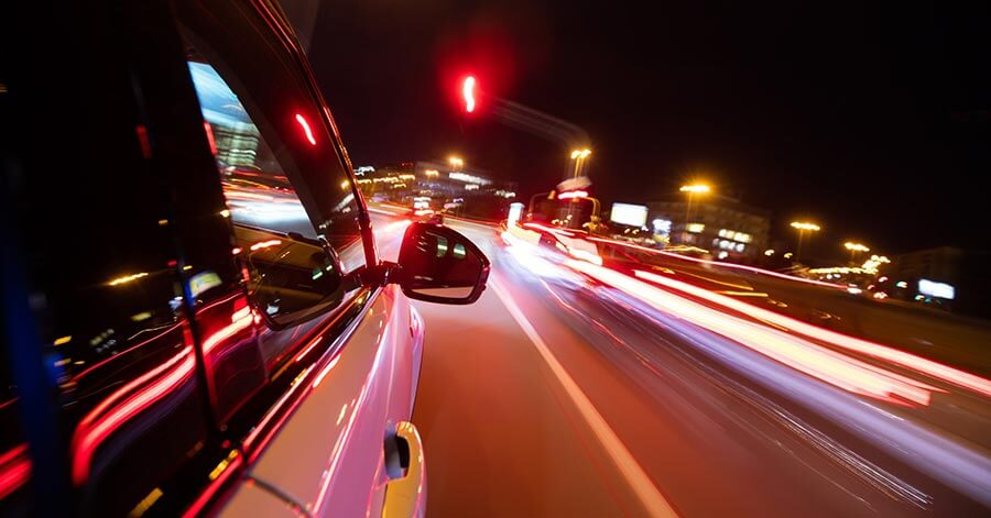 נסיעה בנתיב תחבורה ציבורית
